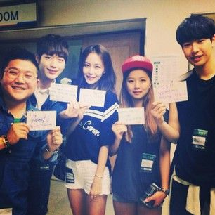 Gayeon,Seho,Kanjoon, Soohyun,minwoo