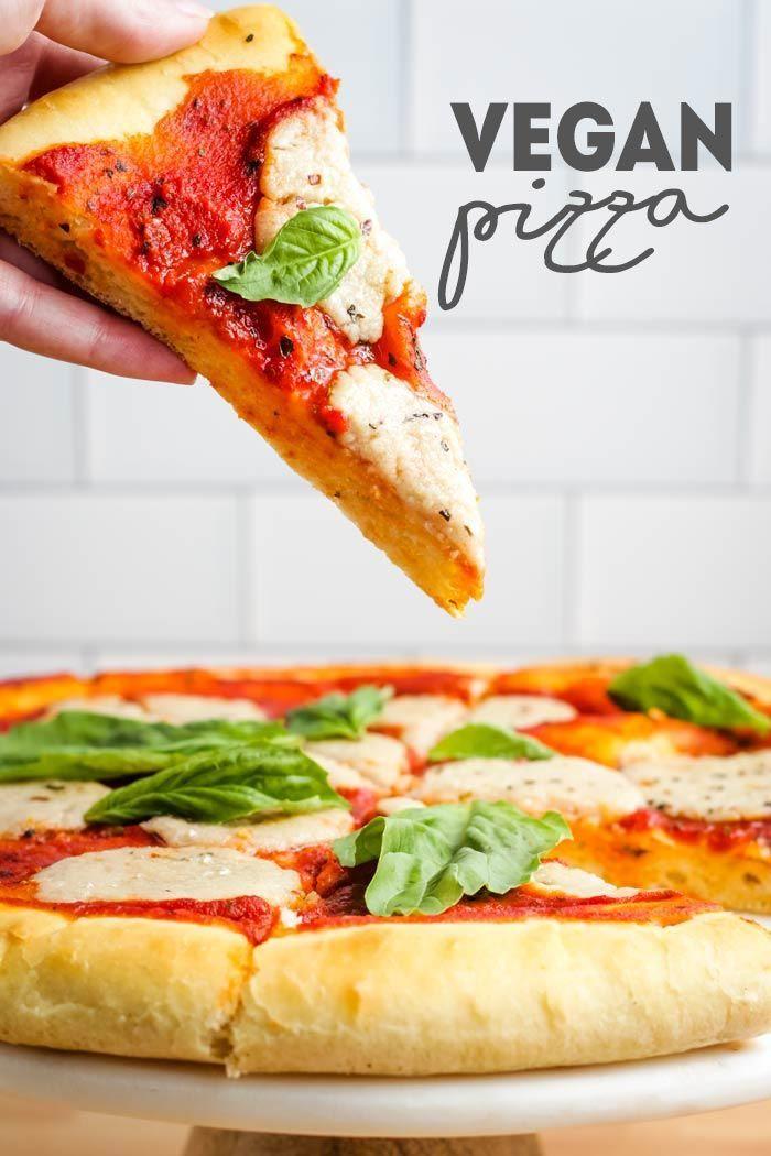 Vegan Pizza Recipe With Images Vegan Pizza Recipe Vegan Pizza Cheese Recipes