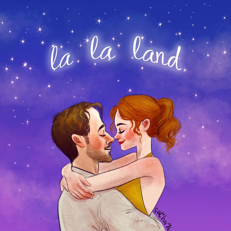 """who knows, is this the start of something wonderful and new? or one more dream, that i cannot make true…"" (La La Land art - Ryan Gosling and Emma Stone )"