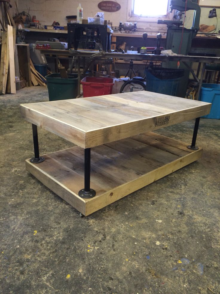 1st pallet table