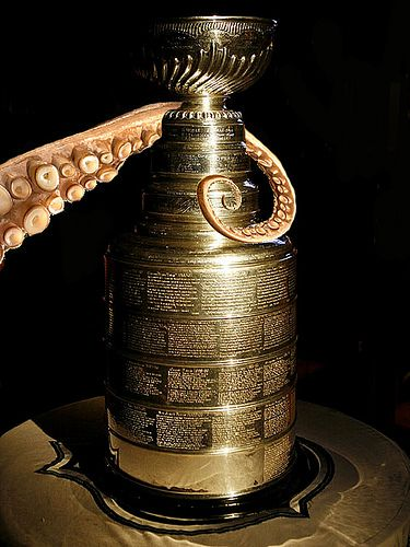 Lord Stanley's Cup...belongs to the Detroit Red Wings!