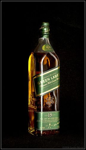 Johnnie Walker. Green label, bought one in Germany before they stopped making them and had it stolen, that's when you know it's some good shit.