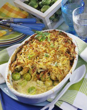 Unser beliebtes Rezept für Geschmorter Rosenkohl unter Kartoffel-Kruste und mehr als 55.000 weitere kostenlose Rezepte auf LECKER.de.