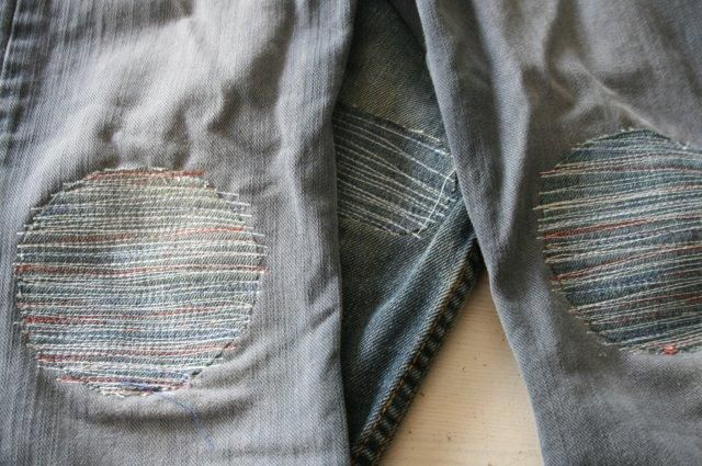 Innovative Jean Patch Idea by Vanmarieke (in Dutch--use Google Translate for her description.)
