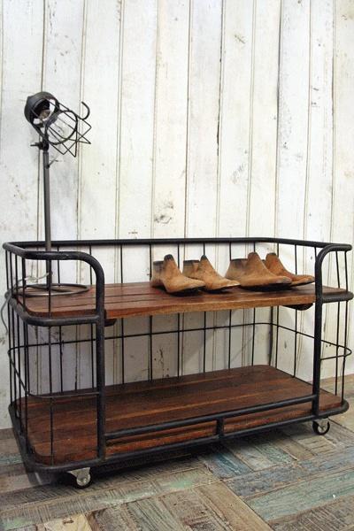 Factory Bindery Shelving Unit Small 58cm x 94cm x 47cm