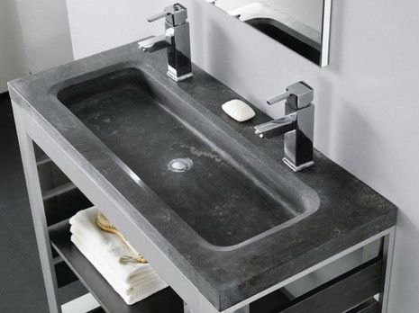 Stone Bathco umywalka kamienna 1010x450x100 - 00360  http://www.hansloren.pl/Umywalki-kamienne/598