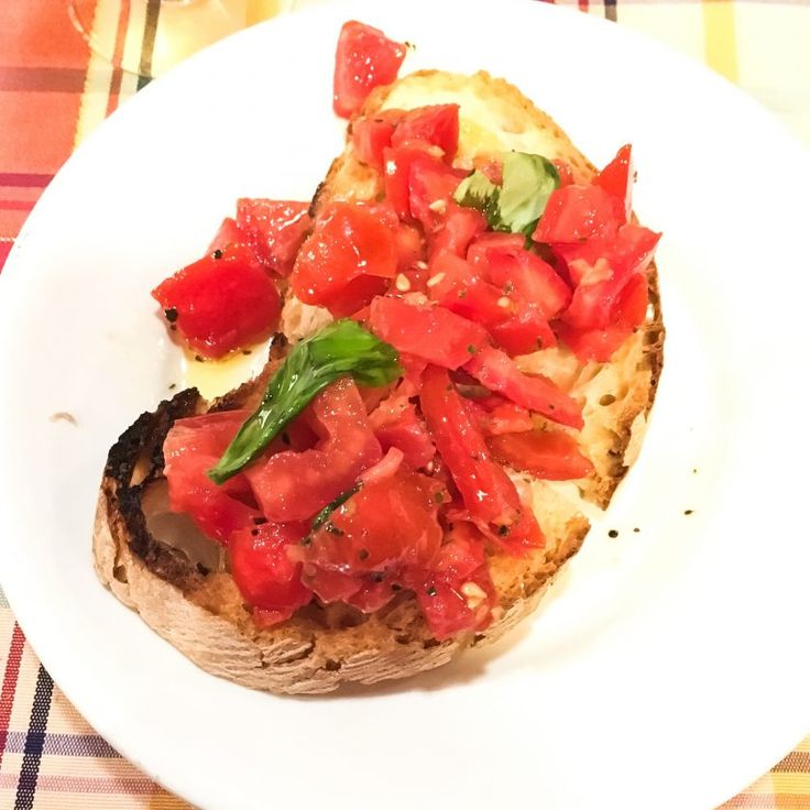 Blog mode melolimparfaite bruschetta melo rome