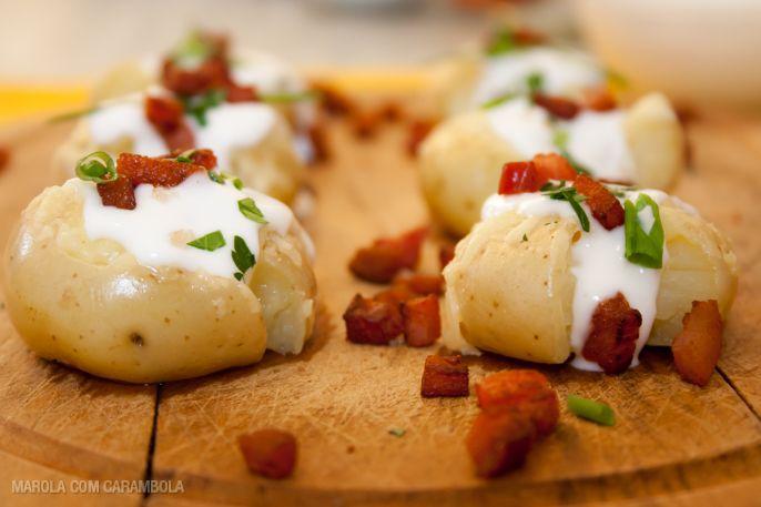 Receitas de batatas - Batatas ao murro
