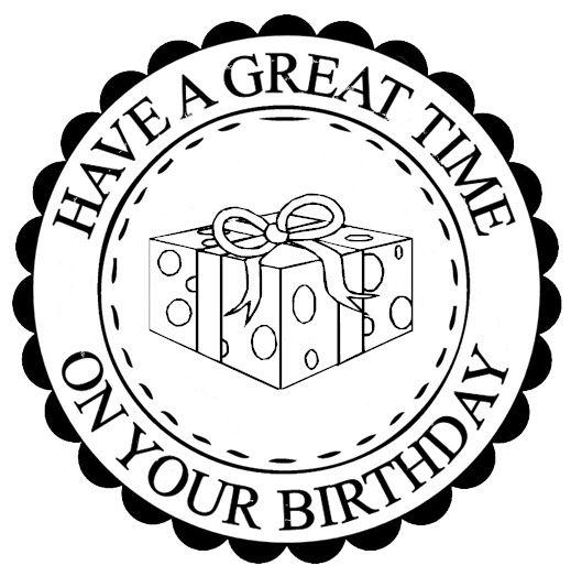 Have a great time on your birthday!