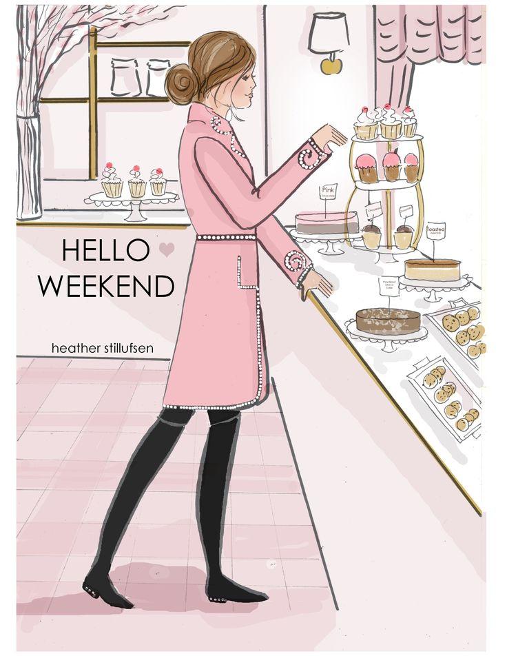 Weekend in Gucci Coat. Heather Stillufsen.