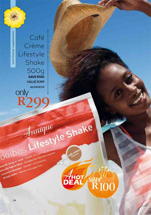 Annique Cafe Creme Lifestyle Shake Annique's Lifestyle Shake is a delicious supplement drink with essential vitamins and minerals to boost energy, curb cravings and ensure a safe and healthy way to  lose weight!