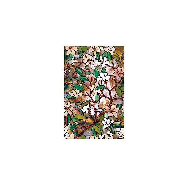 Window film artscape 24 x 36 magnolia window film for Window film lowes