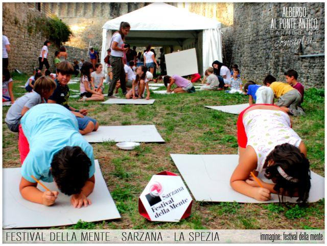 Festival della Mente - Sarzana - La Spezia - Albergo Al Ponte Antico Carrodano - Festival dei Bambini