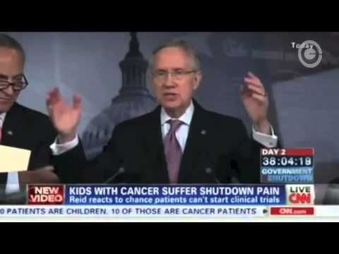Harry Reid Calls CNN's Dana Bash 'Irresponsible' and 'Reckless' for NIH Funding Question