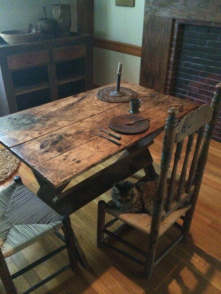 Primitive Tables,Primitive Dining Rooms ...
