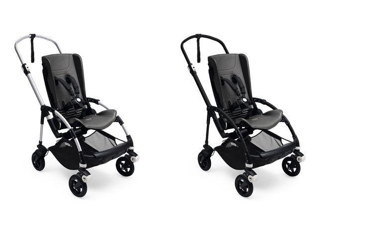 Customize your Bugaboo Bee5 by selecting either a Black or Aluminum
