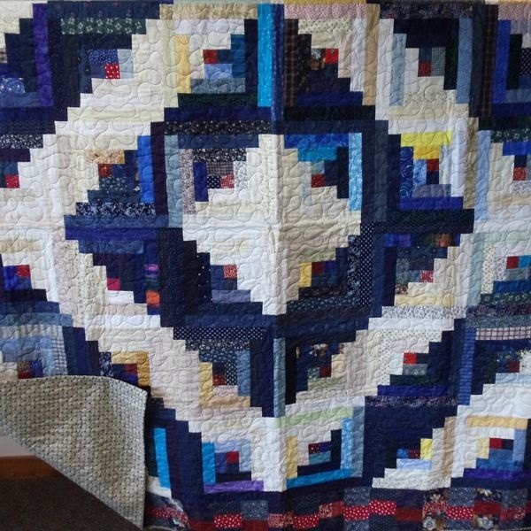 17 Best Images About Quilt Log Cabin Style On Pinterest