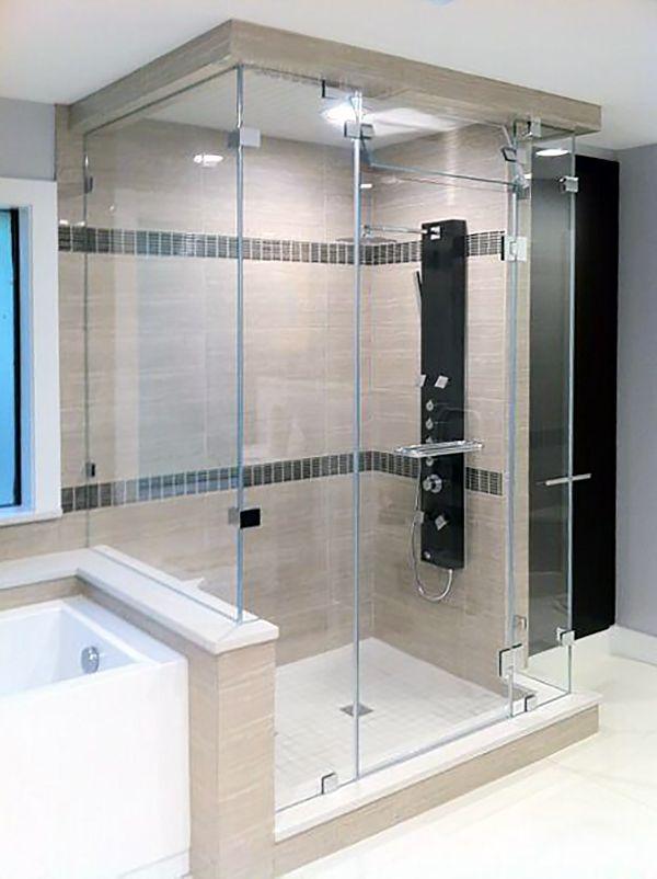 Steam Shower Enclosures | Home improvement | Pinterest | Steam ...