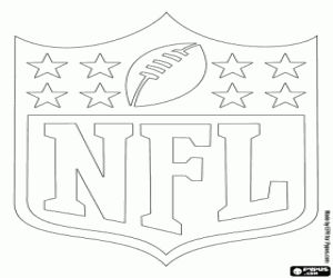 75 best nfl logos images on pinterest | coloring pages, football ... - Nfl Football Logos Coloring Pages