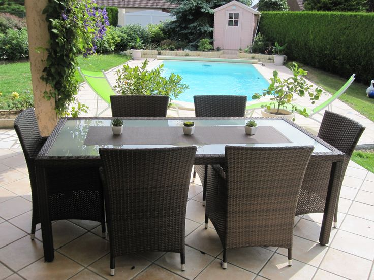 25 best ideas about table de jardin resine on pinterest