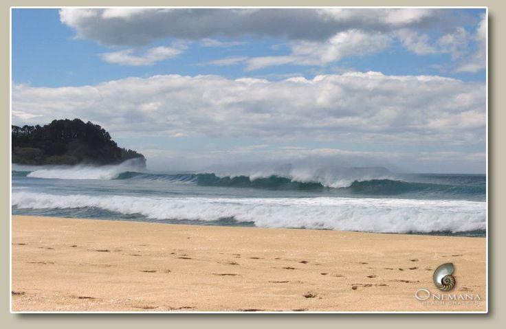 Onemana Beach - Whangamata - New Zealand  Family holiday