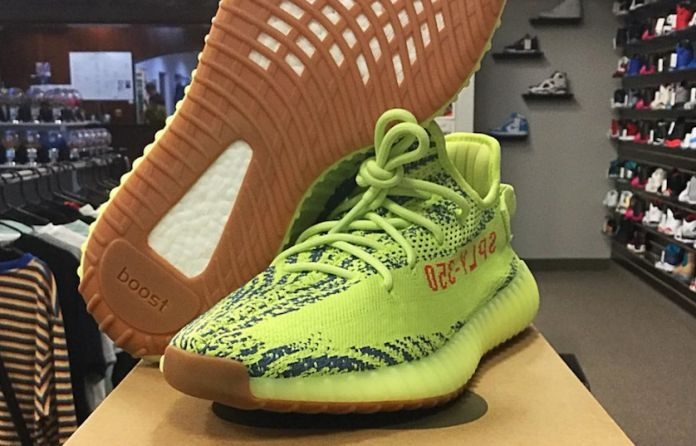 a4bd8b5972532 The adidas Yeezy Boost 350 V2 Semi Frozen Yellow Finally Has A Release Date