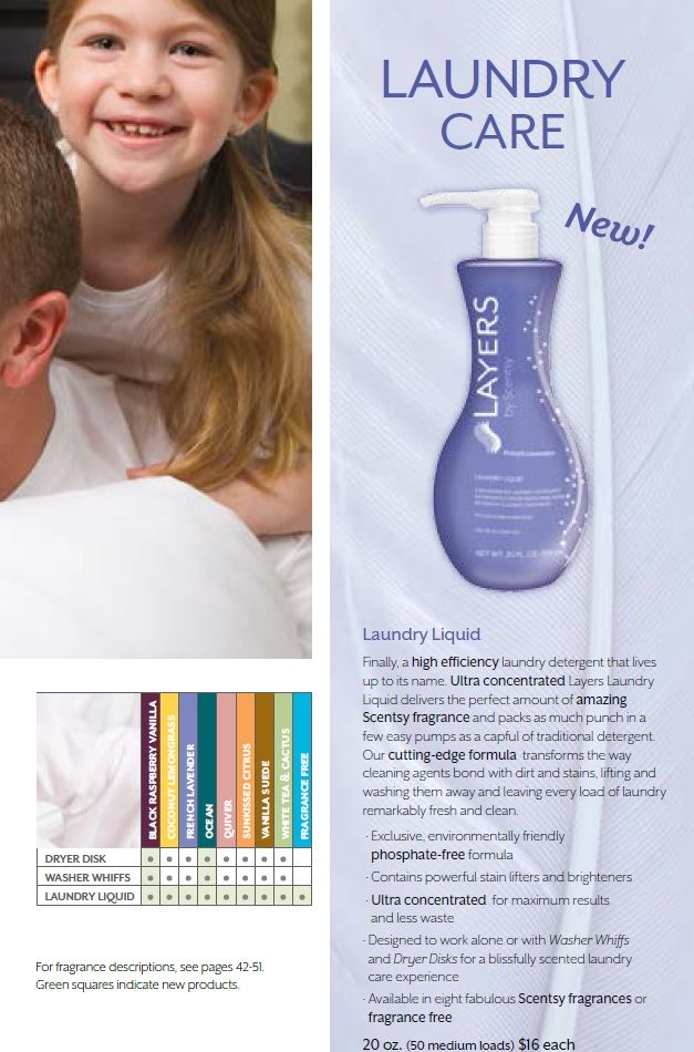 Scentsy Laundry Liquid - Available Sept 2013  www.agarrett5.scentsy.us
