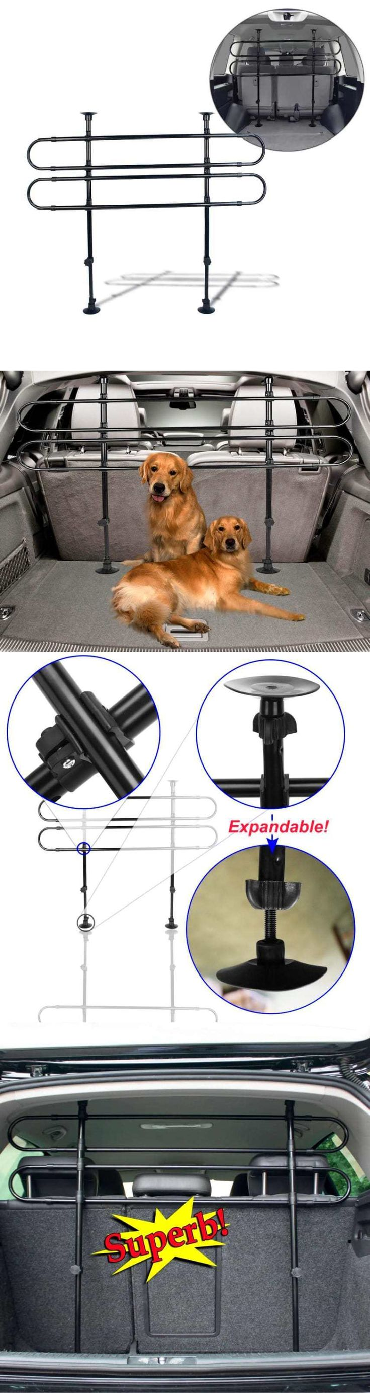 Car Seats and Barriers 46454: Pet Barrier Dog Accents Dynamic Highlander Hardwood Ez Balck Gate Car Suv New BUY IT NOW ONLY: $35.3