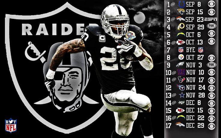 Oakland Raiders Schedule HD Wallpaper 1080p | Picture Reference ...
