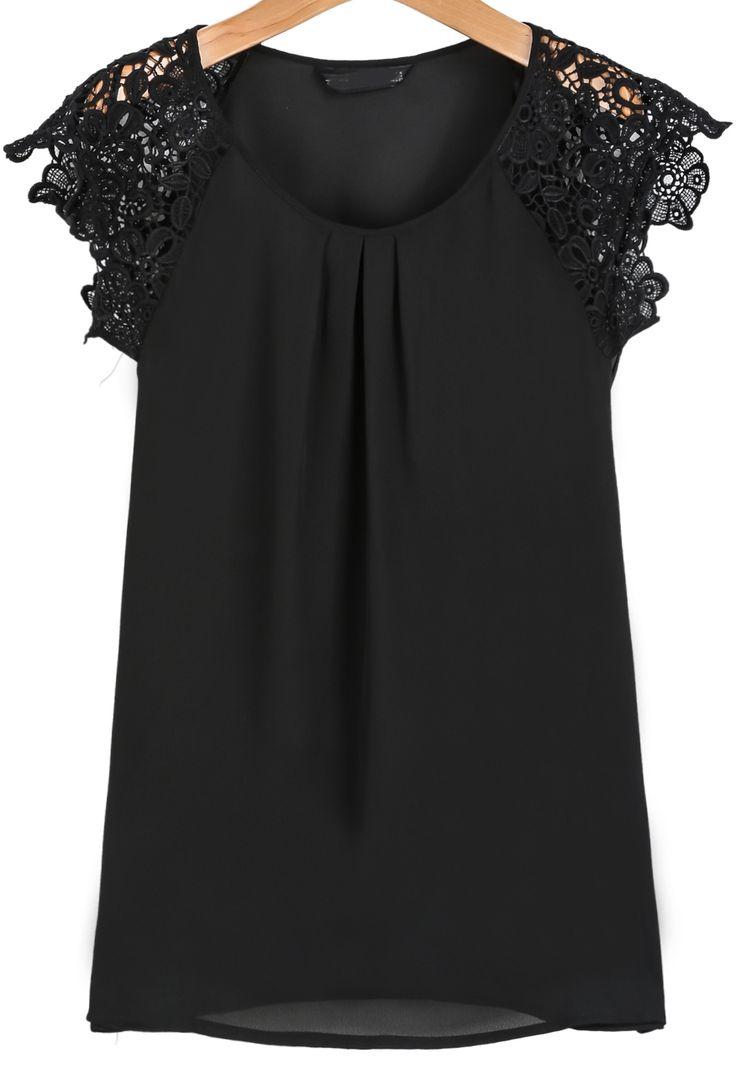 Top 25  best Black blouse ideas on Pinterest | Black blouse outfit ...