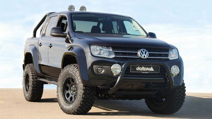 Delta 4x4 Nudge Bar - Volkswagen Amarok - Wolf 4x4 Pty Ltd