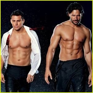 Shirtless Channing Tatum & Joe Manganiello For Entertainment Weekly