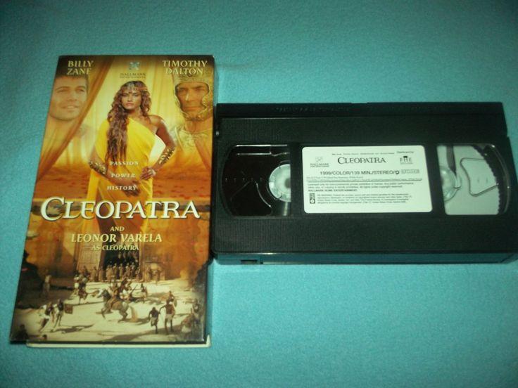 CLEOPATRA~VHS~LEONOR+VARELA,+BILLY+ZANE,+TIMOTHY+DALTON~1999+HALLMARK