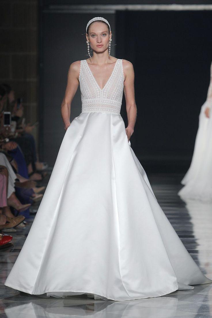 Rosa Clará Bridal Spring 2020 Celebrity wedding dresses