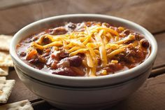 Slow Cooker Chili is the perfect game day recipe! Serve with a side of cornbread or top with tortilla chips and cheese.