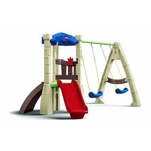 little tikes lookout swing set little tikes
