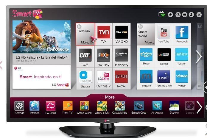 """La Televisión LG 42LB5550 es una excelente opción para pasar ratos de diversión y entretenimiento con familiares y amigos. La Televisión LG 42LB5550 es una pantalla LED de 42"""" con resolución Full HD de 1920 x 1080 pixeles que te ofrece las mejores características y las más innovadoras tecnologías para que disfrutes al máximo de tu experiencia. Pantalla LED de 42"""" Full HD Resolución de 1920 x 1080 pixeles,1 HDMI, 1 USB."""