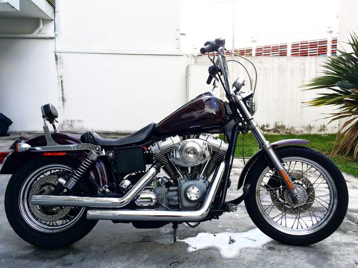 Harley Davidson dyna super glide custom 2005 1450