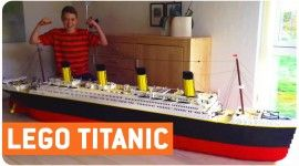 THE TITANIC Built out of THOUSANDS of Legos! From what we remember of playing with Lego bricks as kids, we built some pretty cool stuff, but we don't recall putting together anything quite like what this young man has constructed. With a little bit of time, creativity, and more than 30,000 lego bricks, a thought […]