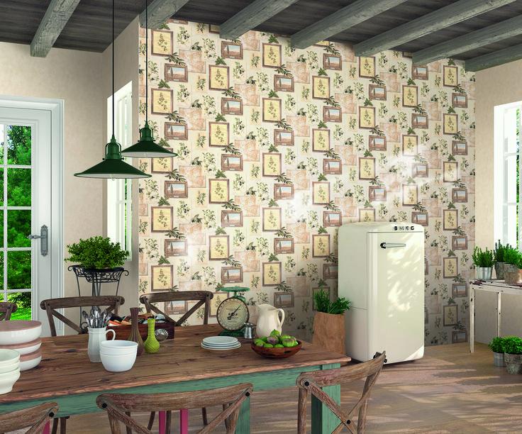 Wer jeden Tag das Lebensgefühl der #Toskana genießen möchte, kleidet seine Wände einfach auf die italienische Art. Eine helle, leichte Putzstruktur, darauf Bilder in Holzrahmen mit Shabby-Chic, antike Landkarten und Olivenzweige soweit das Auge reicht, sorgen für den perfekten mediterranen Touch.
