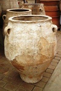 Greek terracotta Jars. …