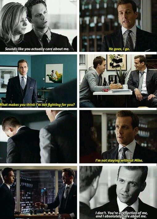 He goes, I go. (And if Harvey goes so does Donna)! Family. Tumblr. Suits.
