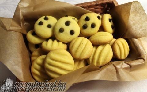 Villámgyors pudingos kekszek recept fotóval