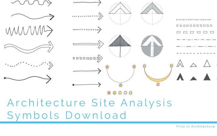 Site Analysis Symbol Download