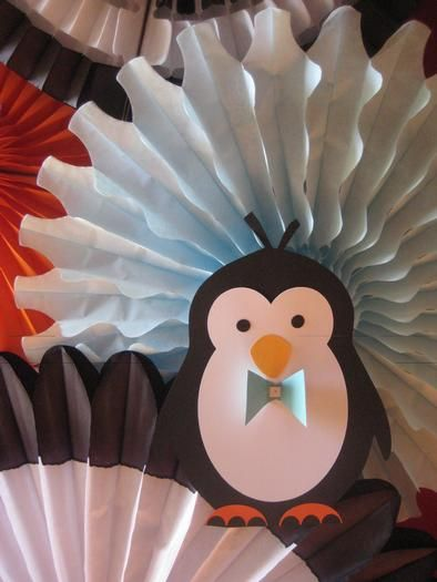 Hostess With The Mostess®   Penguins At The Beach Baby Shower Luncheon