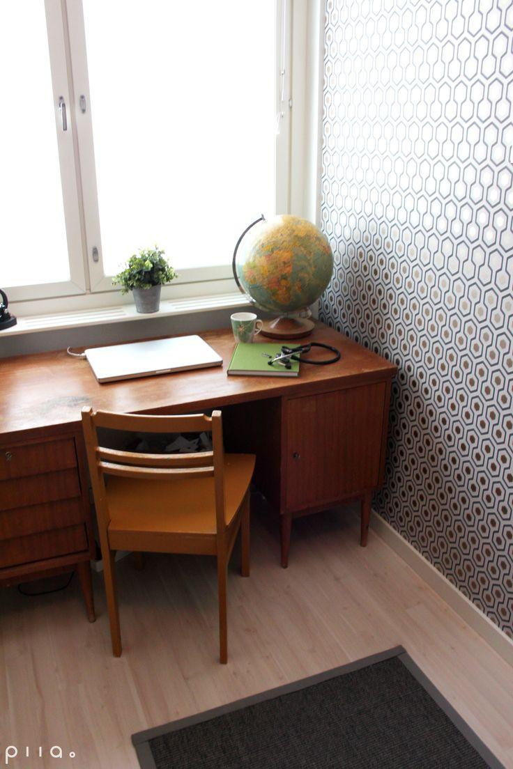 50-luvun kerrostaloasunnon remontti ja sisustus 2014 / kuva: Piia Seppänen