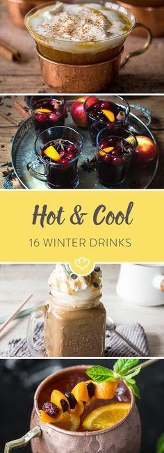 Lust leckere Heißgetränke und kühle Drinks zu zaubern, die dich durch die Wintertage bringen? Wir haben die besten Rezepten für dich zusammengestellt.