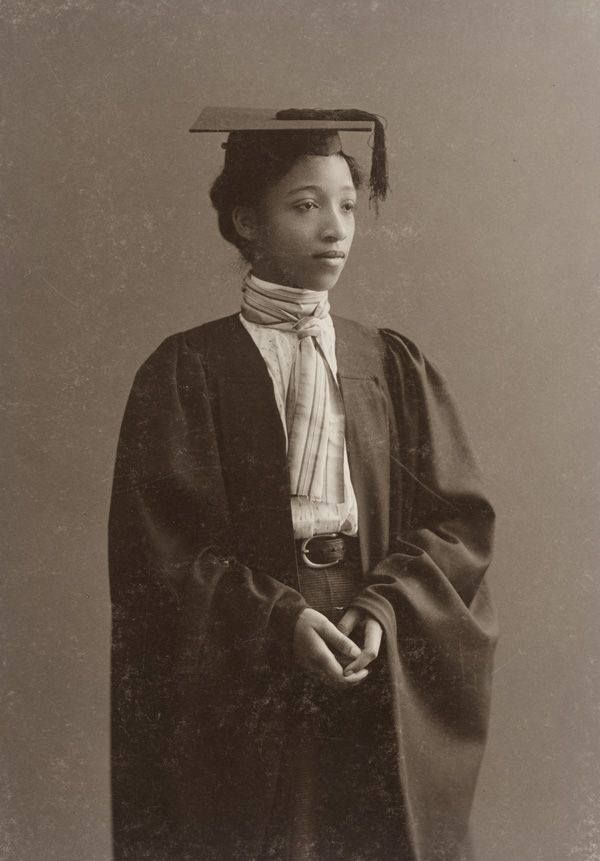 Alberta Virginia Scott, Class of 1898, first African American graduate of Radcliffe College - courtesy of Schlesinger Library.