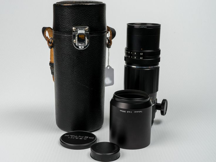 Mint Asahi Pentax Prime Tele-Takumar 300mm f/6.3 M42 Mount Lens w/ Case OEM Hood   eBay