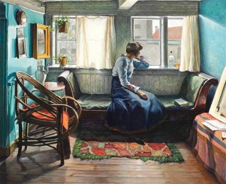 Edwad Vele, Stanza blu, 1907